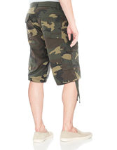 Men's Tactical Combat Military Army Cotton Twill Camo Cargo Shorts With Belt image 10