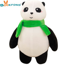 1pc 35cm Cute Cartoon Panda with Scarf Plush Toy Stuffed Animal Baby Dol... - $28.93