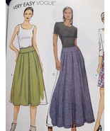 Vogue Sewing Pattern 9090 Ladies Misses Skirts Size 6-14 New - $17.13