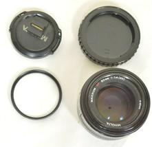 Minolta AF 50mm f/1.4 AF RS camera lens Sony Alpha A-mount image 1