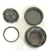 Minolta AF 50mm f/1.4 AF RS camera lens Sony Alpha A-mount - $148.49