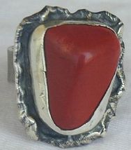 Blood stone ring-HMBG - $32.00