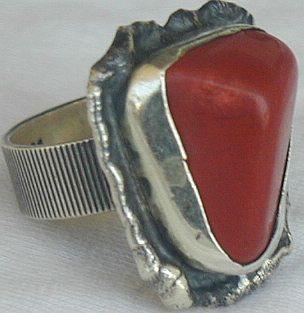Blood stone ring-HMBG
