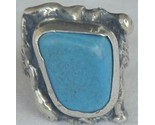 Turquoise pressed stone ring thumb155 crop
