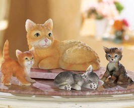 Cat Family Figurines - $19.95