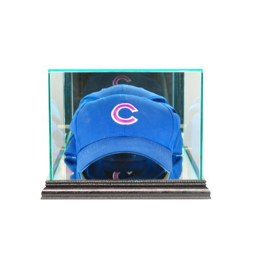 Perfect Cases MLB Cap/Hat Glass Display Case, Black