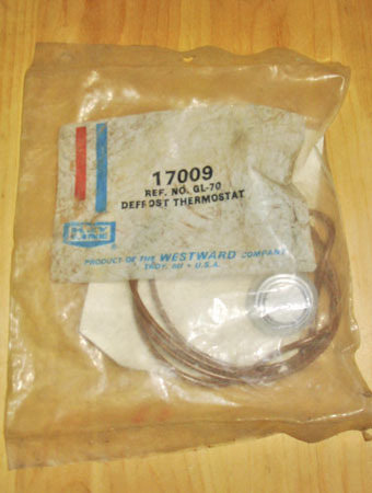 Gl70 defrost thermostat
