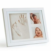 Baby Handprint and Footprint Picture Frame Kit by ZaniFlip - Personalize... - $22.73