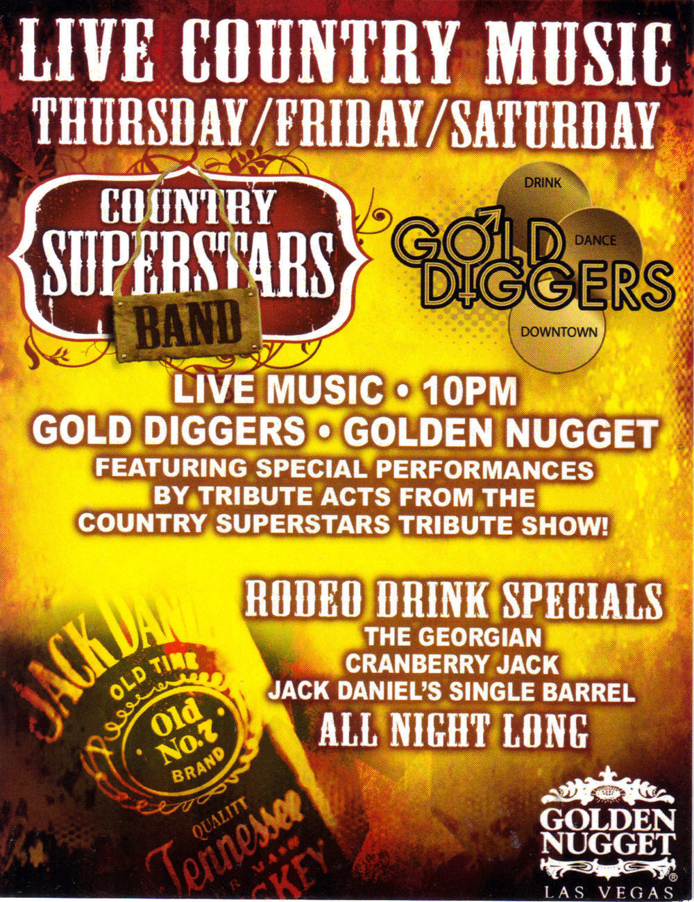 Golden nugget country superstar