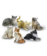 Set Of 6 Cat Shelf Sitters - $17.75