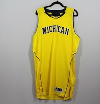 Adidas Mens 2XL 4+ Length Michigan Wolverines Team Issued Basketball Jer... - $1.540,10 MXN
