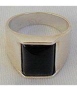 Onyx man ring-D - $26.00