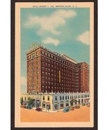 Postcard Robert E Lee Hotel Winston-Salem NC unused c1945 - $4.25