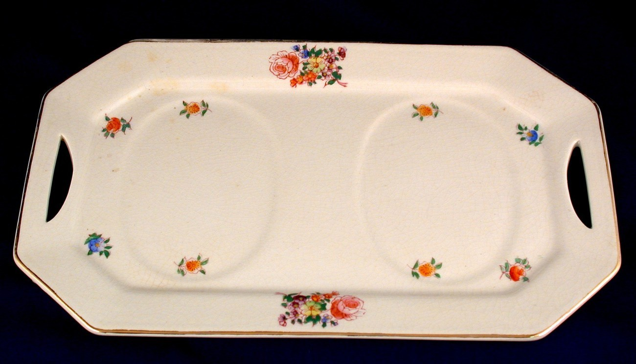 Mikori Ware 6.5x10.5 Serving Tray Made in Japan Turtle Mark