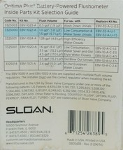 Sloan Water Repair Kit For Urinals EBV-1022-A 1.0 GPF 1.5 GPF image 2