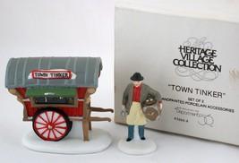 Dept 56 Town Tinker Heritage Village Accessory #5646-4 Original Box - $5.99