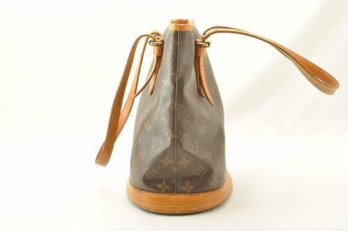 LOUIS VUITTON Monogram Bucket PM Shoulder Bag M42238 LV Auth cr194 **No Sticky image 3