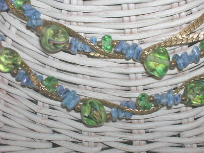 Primary image for Vintage Hattie Carnegie Necklace Art Glass Beads Repair