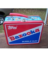 Vintage Topps Bazooka Bubble Gum Lunch Box Tin Lot # 26 - $45.00