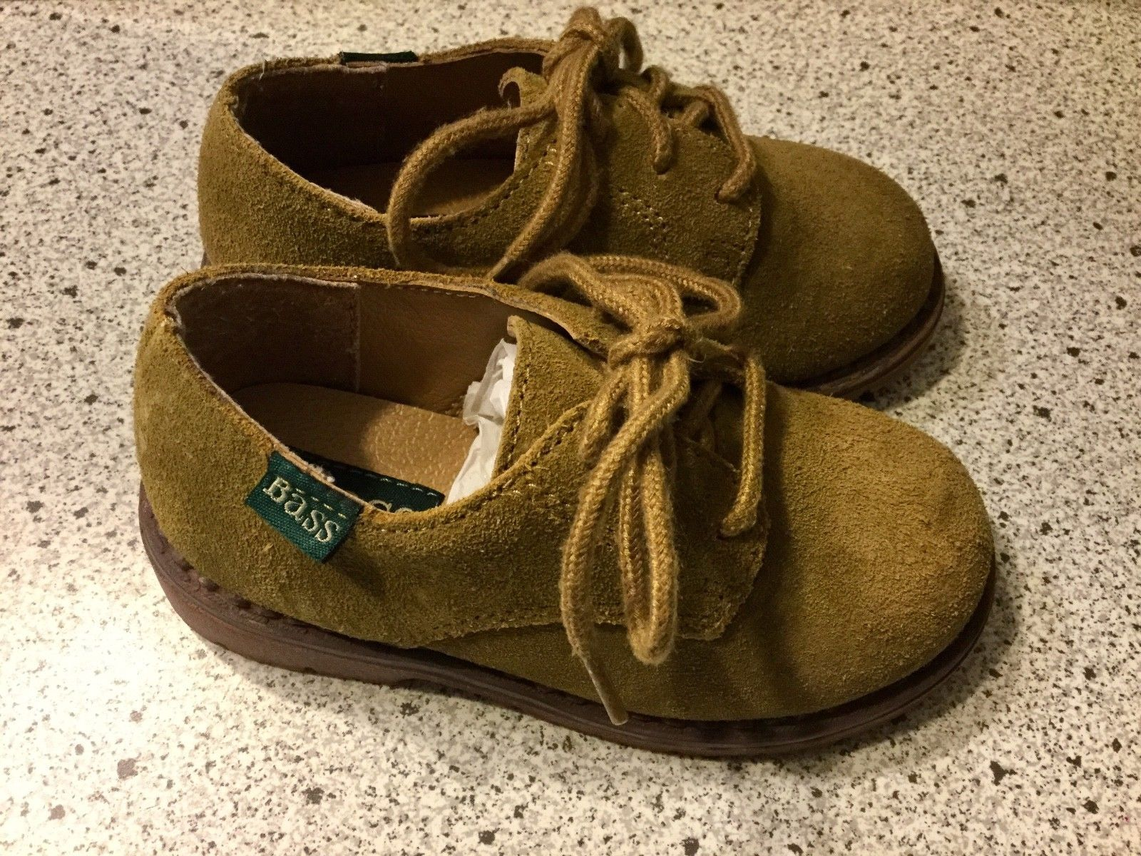 Baby Bass Tan Bucky II 2 Boys Shoes Size 8 M Leather 6547-261 With Box image 3