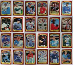 1986 Fleer Star Stickers Baseball Cards Pick From List - $0.99+
