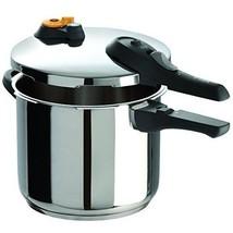 Stainless Steel Pressure Cooker 6.3-Quart Dishwasher Safe PTFE PFOA Cadm... - £56.54 GBP