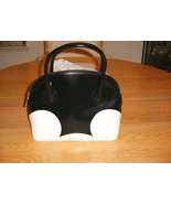 NWOT/DSINEY/MARCO ROSSI/MICKEY MOUSE COLLECTION/BLACK AND WHITE/PURSE/HA... - $200.00