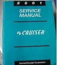 2001 Chrysler PT Cruiser Servicio Tienda Reparación Manual Fábrica OEM 01 - $77.21