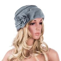 New Fashion Elegant Ladies Hats Winter Beret Casual Cloche Cap Women Woo... - $34.99