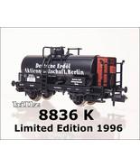 FLEISCHMANN N 8836 KPEV Deutsche Erdol Tank Car -Ltd Ed 1996 - $64.50