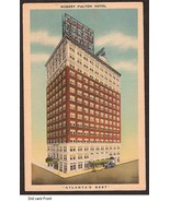 Robert Fulton Hotel Atlanta GA 1940 divided unu... - $3.50