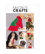 McCall's M5777 Dog Christmas Gift Items Pattern Sm - XLg - $15.99