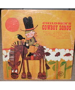 Children's Cowboy songs  LP- robin Hood Records - $9.99