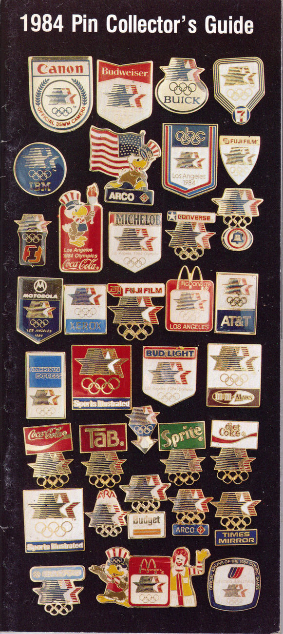 1984 pin collector guide