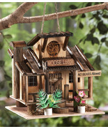 Rustic Moose Lodge Northwoods Hanging Birdhouse - $21.95