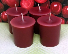 Cranberry PURE SOY Votives (Set of 4) - $7.00