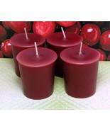 Cranberry PURE SOY Votives (Set of 4) - $7.00