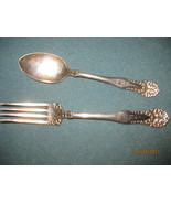 William A. Rogers fork & spoon - $15.00