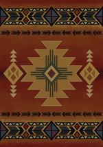 "4x6 (3'11"" x 5'3"")  Southwestern Lodge Cabin Rustic Decor Tribal Red Area Rug - €86,82 EUR"