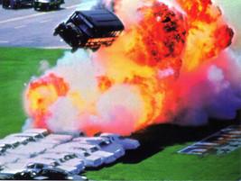 MARK HAGER Dangerous Moments SUPER STUNT Photo Print - $4.95