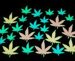 24pc glow in the dark weed pot leaf thumb155 crop