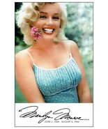 Marilyn Monroe Posed Summertime Stand-Up Display - Model Movie Actress C... - $15.99