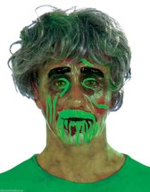 Transparent Male Biohazard Zombie Mask Costume Accessory Fun@Halloween - $8.49