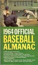1964 official baseball almanac dodger sandy koufax on cover image 1