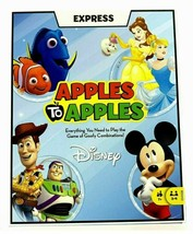 Apples To Apples Express Disney Edition Card Game By Mattel New Sealed T-621 - $9.50