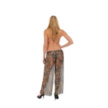 Gorgeous Mesh Camo Beach Pants Swimwear Cover up_ - $16.00