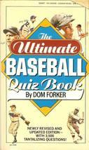1988 the ultimate baseball quiz book sandy koufax bob feller ty cobb cover image 1