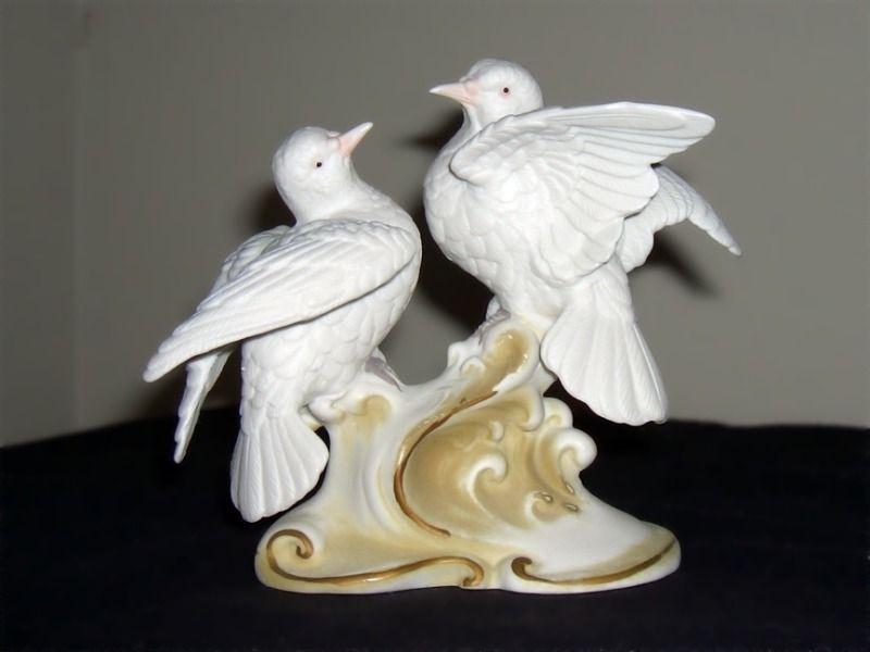 Lefton China Doves figurine # 865