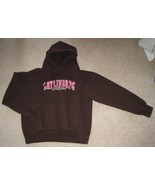 Gatlinburg Tennessee Brown Pink Hoodie Sweatshirt Women's Small FREE SHIPPING - $12.50