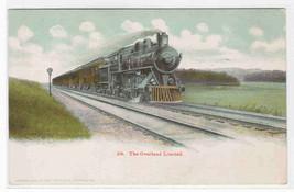 Railroad Train The Overland Limited 1905c postcard - $6.93